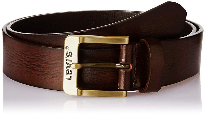 personalized leather belt