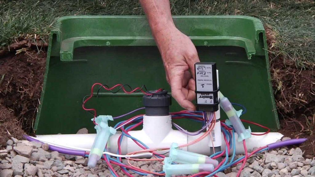 decoder irrigation system