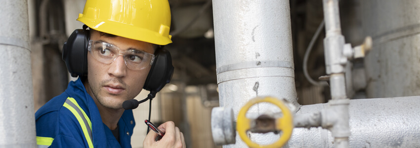 What is an industrial radio communication system Explain their benefits